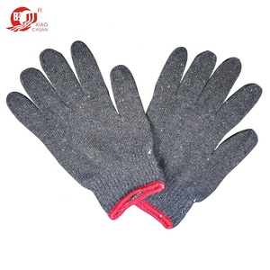 new coming promotion personalized safety knitted glove