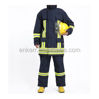 Nomex Firefighter Suits, Nomex Advance Bunker Suit, CE Standand