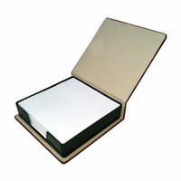 Paper Desk Memo Block Note Pad With Paperboard Holder Promotional Gift