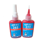 threadlocker acrylic sealant 242/272 /277 orange red acrylic anaerobic threadlocker adhesive 10ml 50ml 250ml acrylic sealant