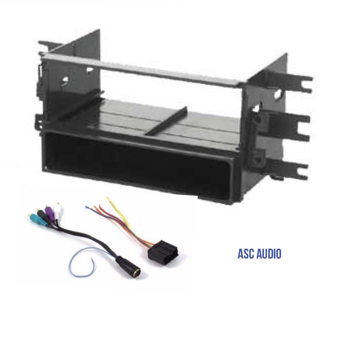 Buy Car Stereo Dash Kit And Wire Harness For Installing A New Single Mitsubishi Audio Din Radio Some