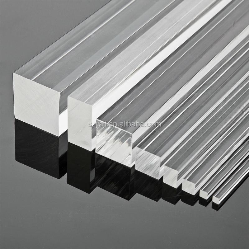 New Style Led Light Clear Acrylic Stick Large Pmma Acrylic Plastic ...