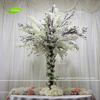 GNW CTR161008-001 Customized Promotional Cheap wedding blossom tree centerpieces for table
