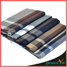 In Stock Acrylic Checked Jacquard Scarves