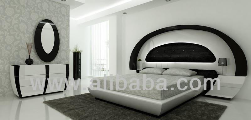 Ultra Modern Bedroom Furniture - Buy Home Interiors Led Bed Modern  Furniture Exquisite Interior Bedroom Product on Alibaba.com