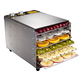 stainless steel fruits and vegetables hot air tray dryer/food dehydrator
