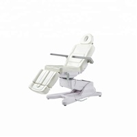 spa salon furniture electric medical table massage facial chair with rotation