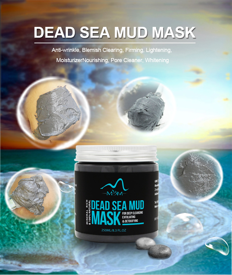 2019 OEM Supply Private Label Israël Dode Zee Modder Gezicht Gezichtsmasker