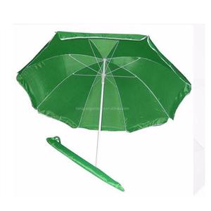 8Ribs green huge windproof outdoor beach umbrella