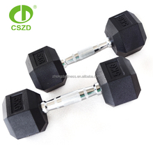 <span class=keywords><strong>Berat</strong></span> Lifting Karet Dilapisi Hex <span class=keywords><strong>Dumbbell</strong></span>