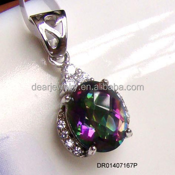 New design mystic topaz pendants for women925 sterling silver new design mystic topaz pendants for women 925 sterling silver mystic topaz jewelry accepted by mozeypictures Gallery
