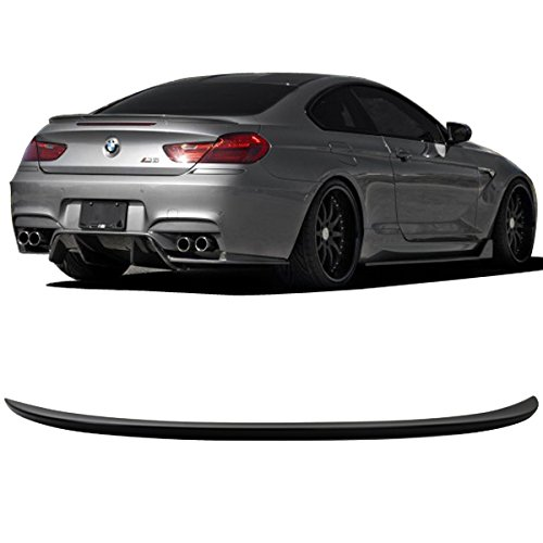 1d9c3326879e Get Quotations · 12-17 BMW 6 Series F13 Trunk Spoiler Wing Painted Carbon  Black Metallic  416