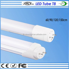 popular type, 26mm round tube, rotatable ends 18W LED T8 fluorescent tube