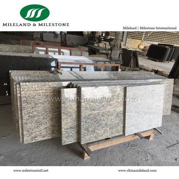 Giallo Santa Cecilia Light Granite Multi Family Kitchen Countertops