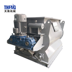 4000L Horizontal Double Shaft Paddle Non-gravity Mixer Mortar Mixing Machine
