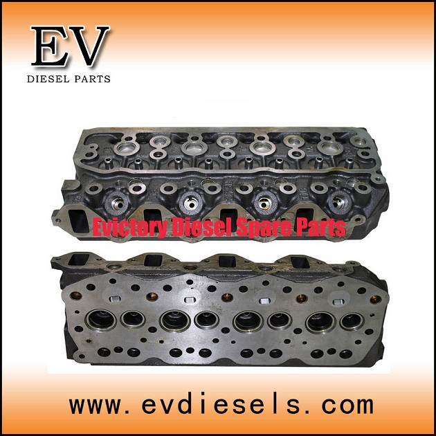 Truck Engine Parts 4d35 4d36 Cylinder Head 4d36t Excavator
