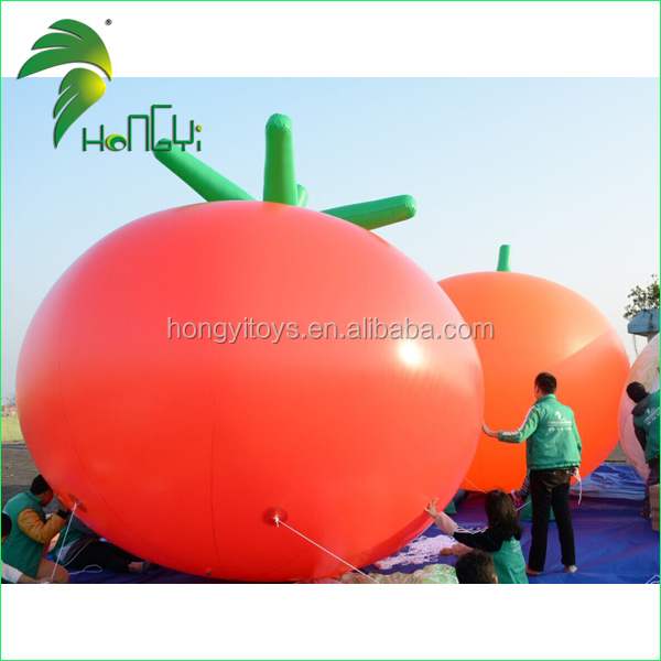 Sky Parade Helium Balloons , Customized Inflatable Vegetable Balloons For Farm Advertising