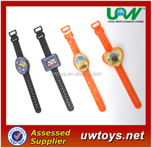 EU USA most Pulaski promotional children kids plastic watch toys