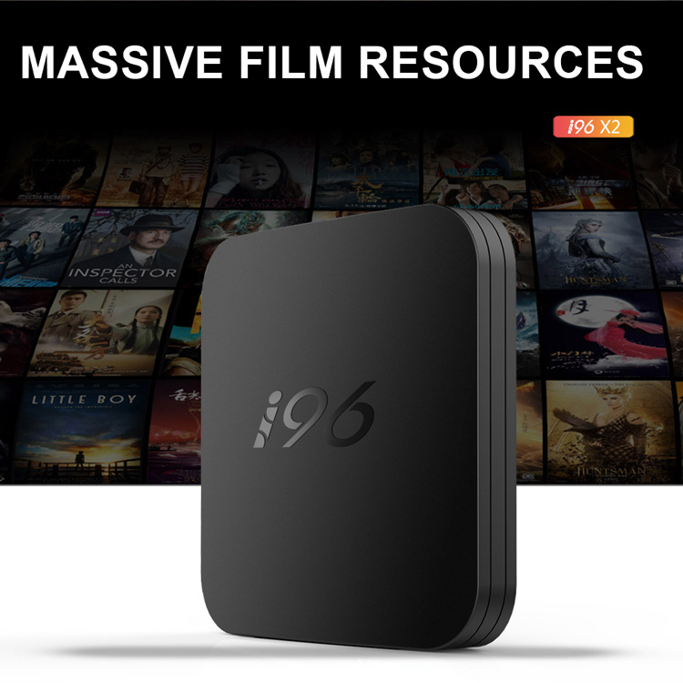 Topleo Latest Condition i96 X2  4k ultra hd firmware Amlogic S905X2 android 8.1 smart 4gb ddr4 tv box