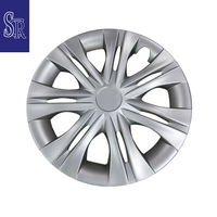 15 inch Plastic ABS Silver Wheel Cover from Taiwan