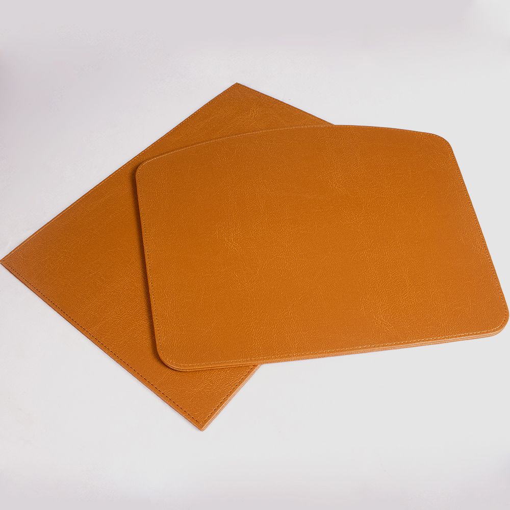 Cheap Large Table Mats PU Leather Desk Mat