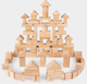 100pcs Pine log Wooden Toys JM104 Block Building for kids early education construct building blocks wood toy