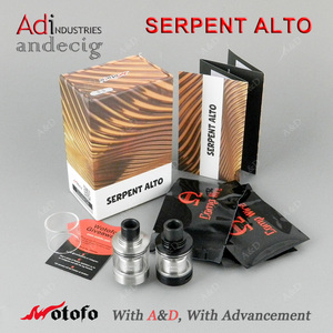 Wotofo Serpent Alto RTA Vape Tank FOR GEEKVAPE MECH PRO COILART MECH  TRICKER BOX MOD IPV VELAS