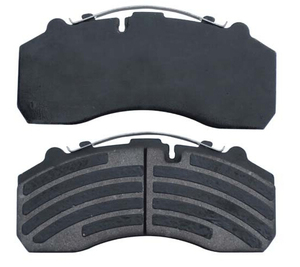 Truck semi-metal Non-asbestos ceramic disc brake pad for MANN SCANNIA IVECO BENZ 29087
