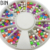 2017 Newest Nail Art Wheels Decals on hot sale