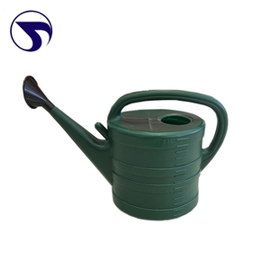 Compact low price China Made Plastic garden watering can/ Spray water kettle 10L