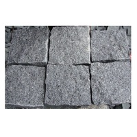 Hot Strongest Handmade Paving Stone for Outdoor Driveway Cobblestones 9x9x9 Dark Grey 654 Sesame Black Cubic Stone For Sale