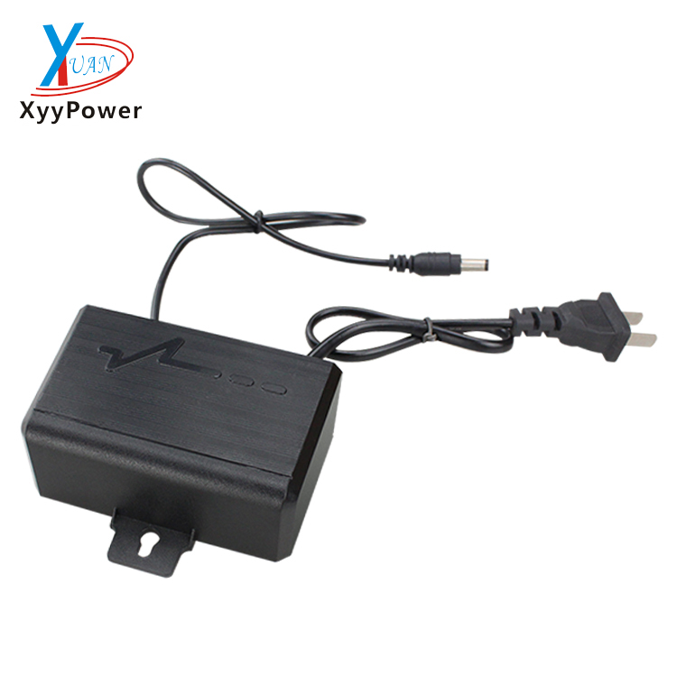 DC 12V 2amp 24W Wall Hanging power outdoor use cctv power supply regulated 12V power adapter
