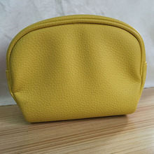multifunctional travel waterproof leather cosmetic pouch with zipper