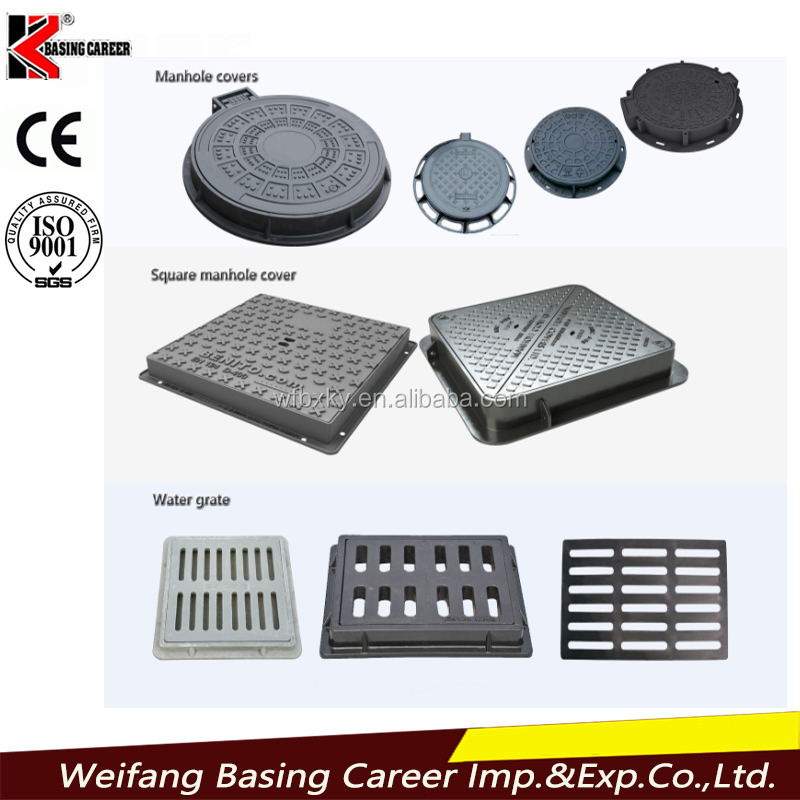Cheap and stout polymer manhole covers to sale