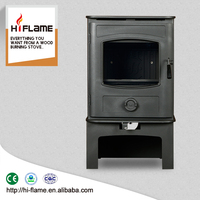 High efficiency Steel plate wood burning stove GR905 with log box