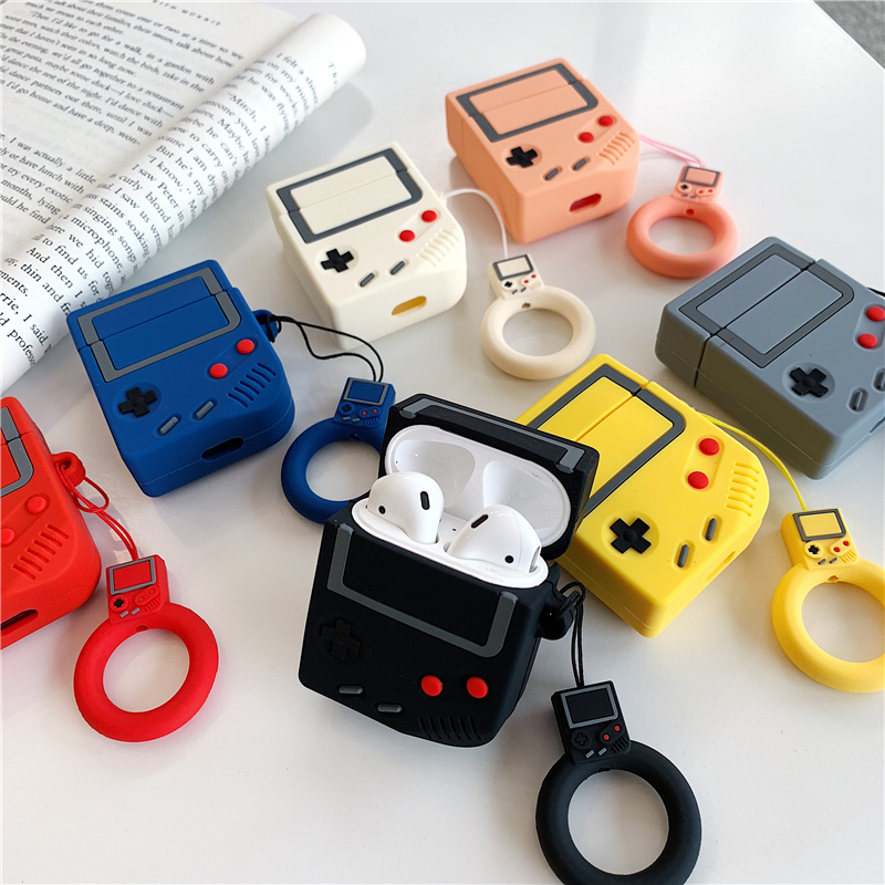 3d Game Machine Silicone Cover For Airpod 2 Case For Apple Airpod