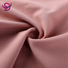 wholesale colorful plain soft touch polyester scuba crepe jersey knit fabric for dress