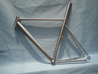 Favorable price racing bike titanium frame chinese road bike