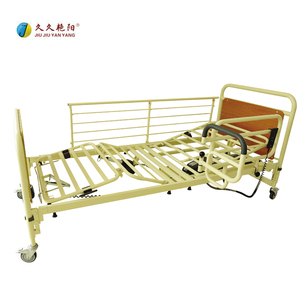high quality DH-B02 Home nursing aged people care wooden foldable medical hospital bed