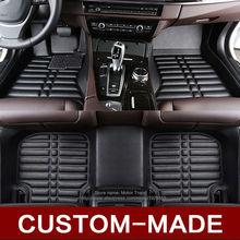 Custom fit car floor mats for Honda Accord Civic CRV Crosstour Fit City HRV Vezel 3D car-styling heavey duty carpet floor liner