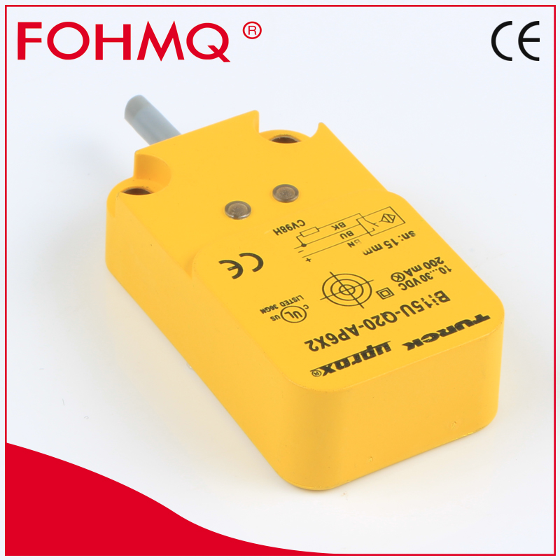 FOHMQ sensor price spuare inductive proximity switch