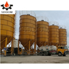 30/90/ 100 /120 ton prices of sheet-assembled cement silo for concrete mixing station
