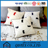 Back pain relif cotton fabric polyester filling sofa cushion