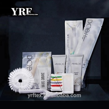 YRF Cheap Hotel Amenities High Quality Bathroom Kits Disposable Toiletries Supplies For Guest