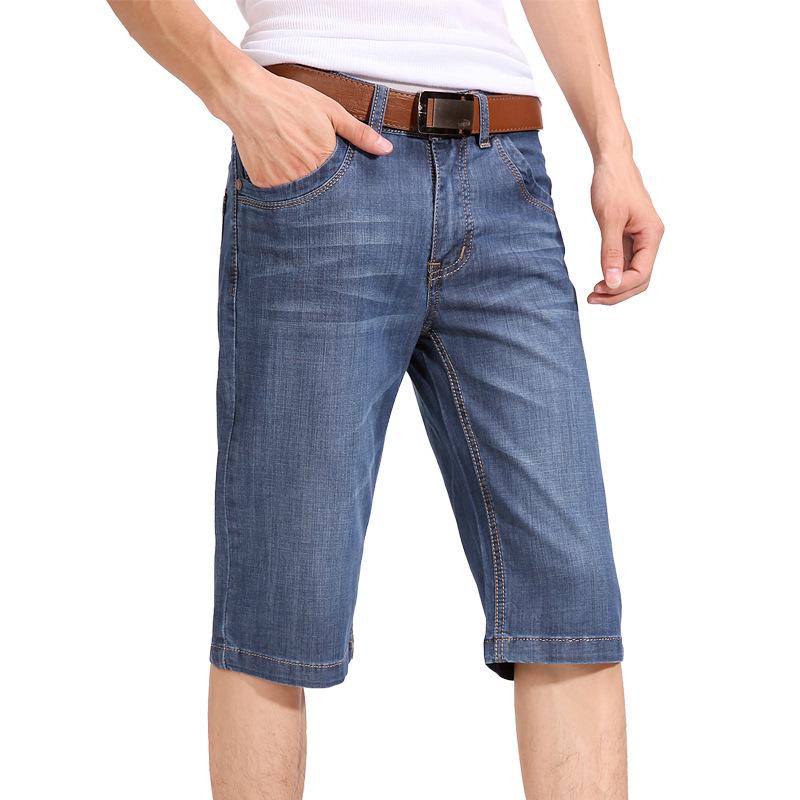 Sweatwater Boys Casual Pants Denim Slim Elastic Waist Comfortably Jeas
