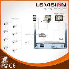 LS VISION all in one ip network camera, camera ip wireless, mini security camera