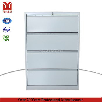 Office Furniture Provide Stainless Steel Horizontal Filing Cabinet Metal Funky 4 Drawer Storage File