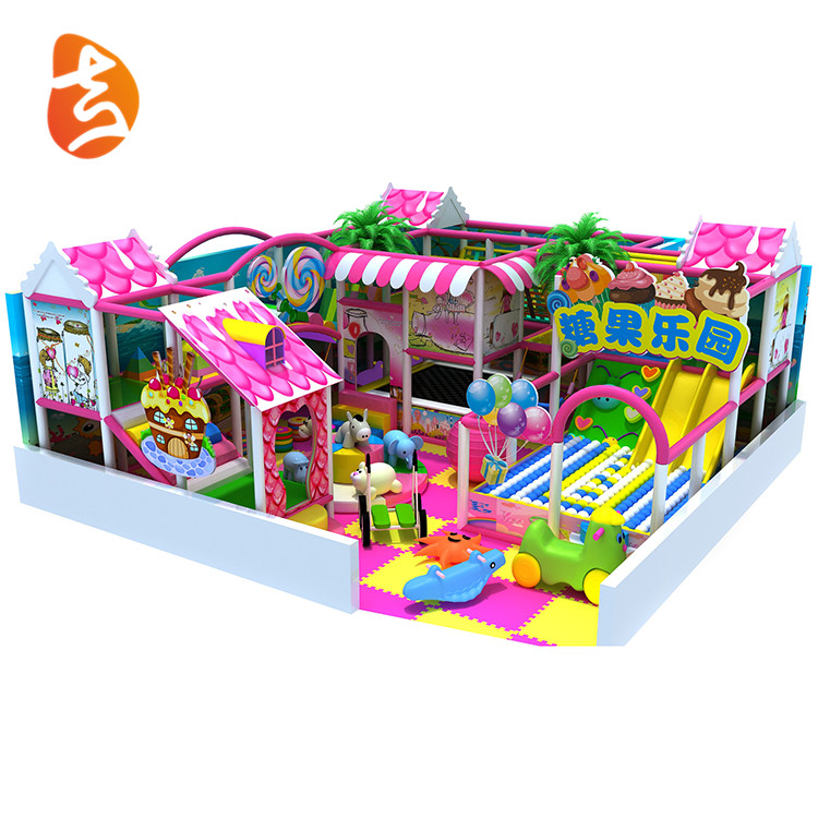 Good quality amusement park plastic indoor children playsets