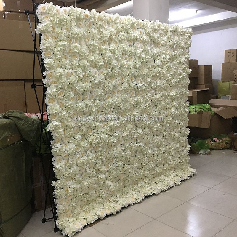 5 Green Wedding Decorations That Will Leave You Speechless: Luckygoods Wholesale Latest Design Artificial Wedding Roll