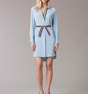 100% Silk Designer Oversize Shirt Dress shirt Pure Dress